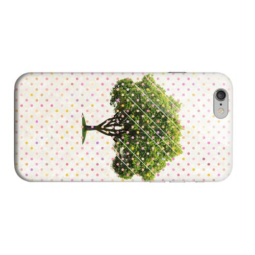 Geeks Designer Line (GDL) Apple iPhone 6 Matte Hard Back Cover - Tree