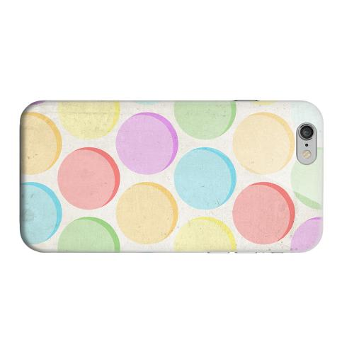 Geeks Designer Line (GDL) Apple iPhone 6 Matte Hard Back Cover - Grungy & Rainbow