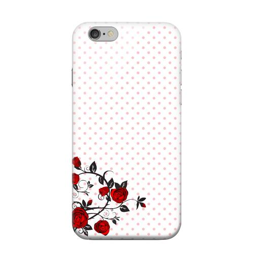 Geeks Designer Line (GDL) Apple iPhone 6 Matte Hard Back Cover - Rose Vine
