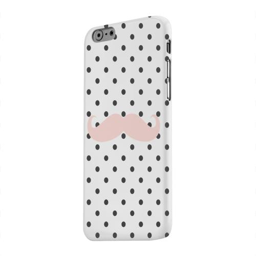 Geeks Designer Line (GDL) Apple iPhone 6 Matte Hard Back Cover - Pink Stache