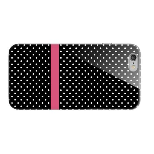 Geeks Designer Line (GDL) Apple iPhone 6 Matte Hard Back Cover - Pink Horizontal Stripe