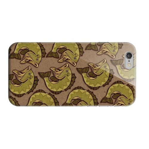 Geeks Designer Line (GDL) Apple iPhone 6 Matte Hard Back Cover - Large Mouth Bass Design