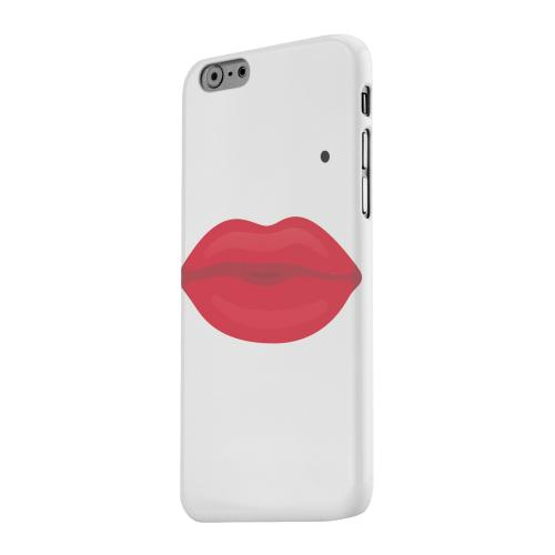 Geeks Designer Line (GDL) Apple iPhone 6 Matte Hard Back Cover - Glamour Lips