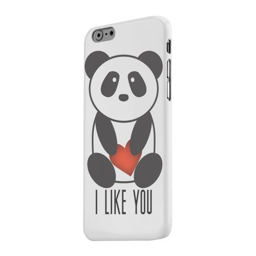 Geeks Designer Line (GDL) Apple iPhone 6 Matte Hard Back Cover - I Like You Panda