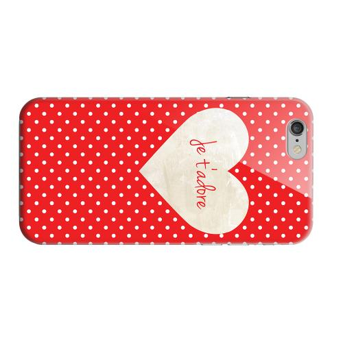 Geeks Designer Line (GDL) Apple iPhone 6 Matte Hard Back Cover - Je t'adore