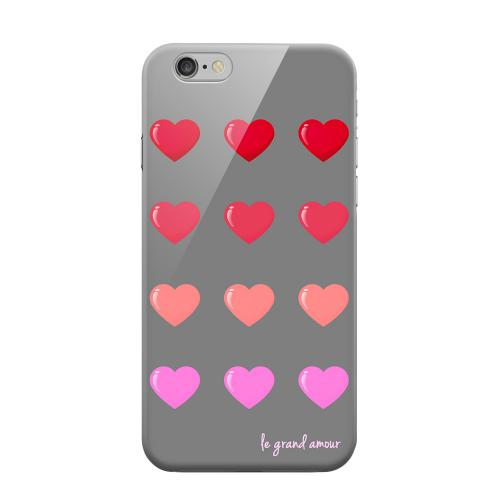 Geeks Designer Line (GDL) Apple iPhone 6 Matte Hard Back Cover - Le Grand Amour