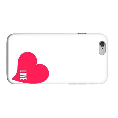 Geeks Designer Line (GDL) Apple iPhone 6 Matte Hard Back Cover - Love Heart