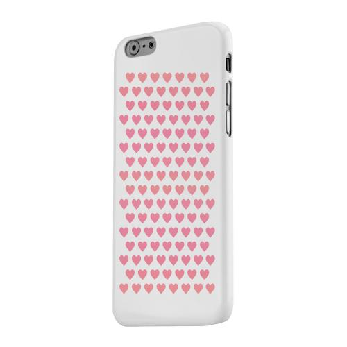 Geeks Designer Line (GDL) Apple iPhone 6 Matte Hard Back Cover - Miniature Hearts