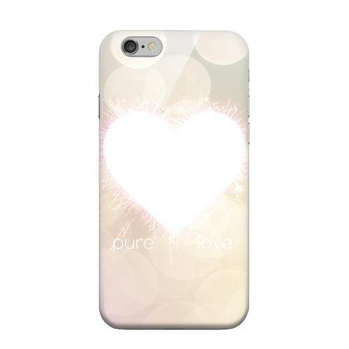 Geeks Designer Line (GDL) Apple iPhone 6 Matte Hard Back Cover - Pure Love