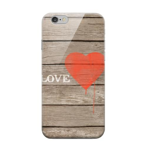 Geeks Designer Line (GDL) Apple iPhone 6 Matte Hard Back Cover - Rustic Love