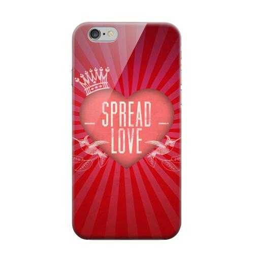 Geeks Designer Line (GDL) Apple iPhone 6 Matte Hard Back Cover - Spread Love
