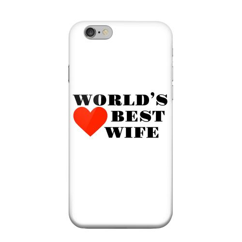 Geeks Designer Line (GDL) Apple iPhone 6 Matte Hard Back Cover - World's Best Wife