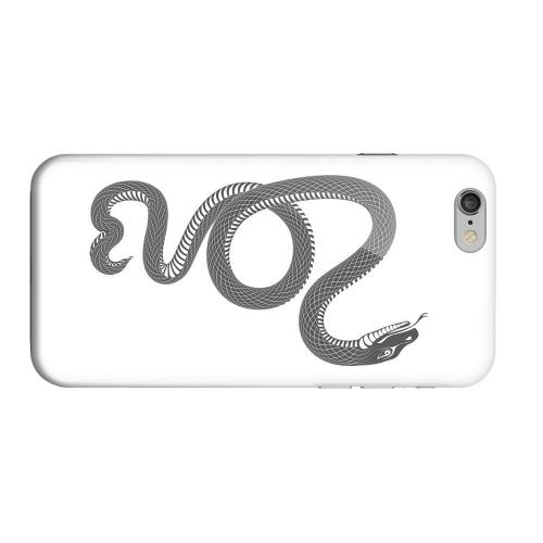Geeks Designer Line (GDL) Apple iPhone 6 Matte Hard Back Cover - Black Snake