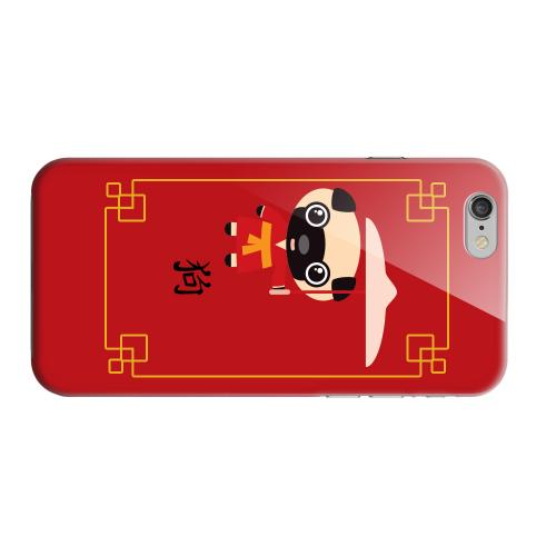 Geeks Designer Line (GDL) Apple iPhone 6 Matte Hard Back Cover - Chibi Dog