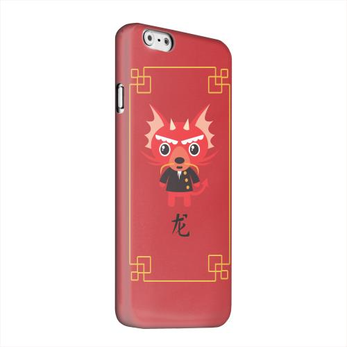 Geeks Designer Line (GDL) Apple iPhone 6 Matte Hard Back Cover - Chibi Dragon
