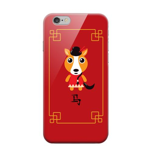 Geeks Designer Line (GDL) Apple iPhone 6 Matte Hard Back Cover - Chibi Horse