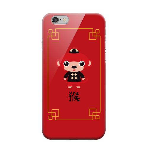 Geeks Designer Line (GDL) Apple iPhone 6 Matte Hard Back Cover - Chibi Monkey