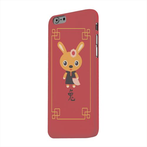 Geeks Designer Line (GDL) Apple iPhone 6 Matte Hard Back Cover - Chibi Rabbit