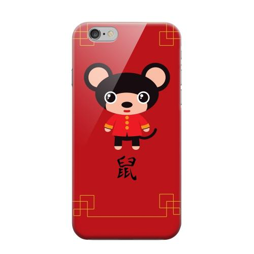 Geeks Designer Line (GDL) Apple iPhone 6 Matte Hard Back Cover - Chibi Rat