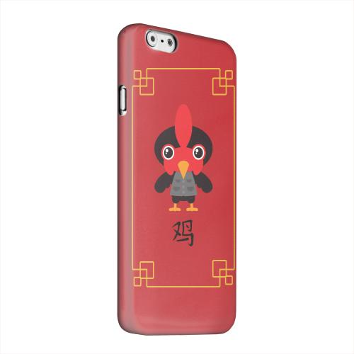 Geeks Designer Line (GDL) Apple iPhone 6 Matte Hard Back Cover - Chibi Rooster