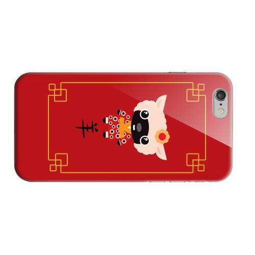 Geeks Designer Line (GDL) Apple iPhone 6 Matte Hard Back Cover - Chibi Sheep