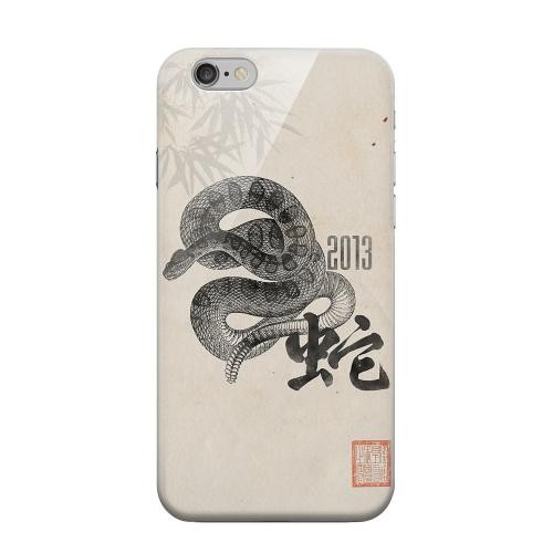 Geeks Designer Line (GDL) Apple iPhone 6 Matte Hard Back Cover - Snake on Parchment