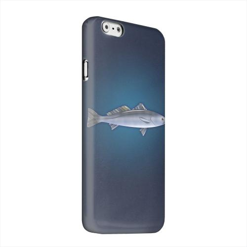 Geeks Designer Line (GDL) Apple iPhone 6 Matte Hard Back Cover - White Sea Bass