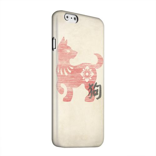 Geeks Designer Line (GDL) Apple iPhone 6 Matte Hard Back Cover - Grunge Dog