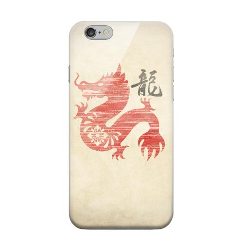 Geeks Designer Line (GDL) Apple iPhone 6 Matte Hard Back Cover - Grunge Dragon