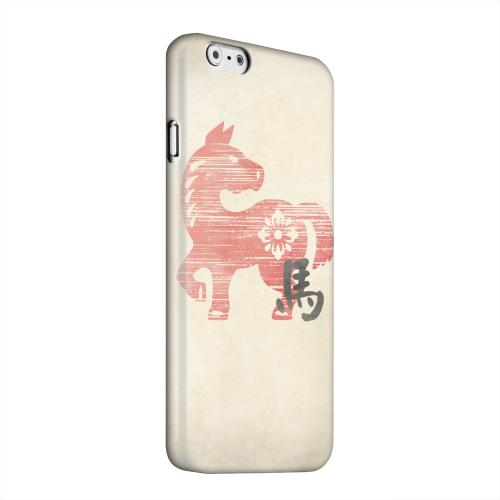 Geeks Designer Line (GDL) Apple iPhone 6 Matte Hard Back Cover - Grunge Horse