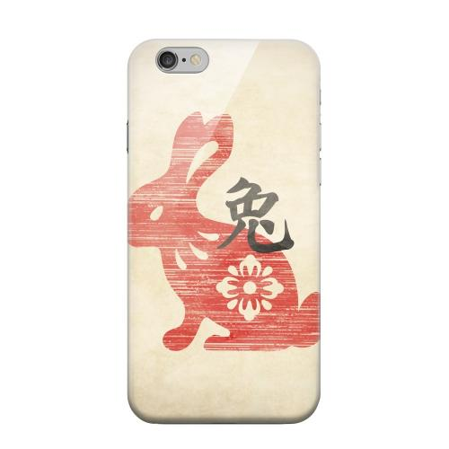 Geeks Designer Line (GDL) Apple iPhone 6 Matte Hard Back Cover - Grunge Rabbit