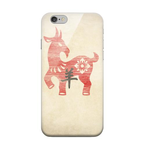 Geeks Designer Line (GDL) Apple iPhone 6 Matte Hard Back Cover - Grunge Sheep