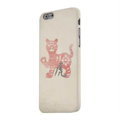 Geeks Designer Line (GDL) Apple iPhone 6 Matte Hard Back Cover - Grunge Tiger