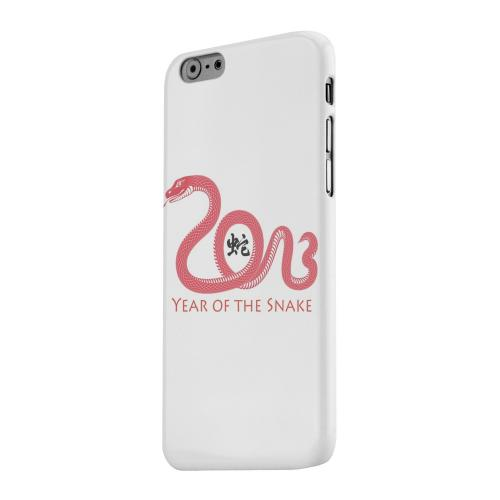 Geeks Designer Line (GDL) Apple iPhone 6 Matte Hard Back Cover - Red Year of the Snake