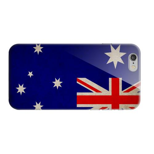 Geeks Designer Line (GDL) Apple iPhone 6 Matte Hard Back Cover - Grunge Australia