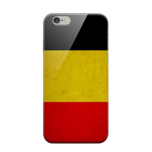 Geeks Designer Line (GDL) Apple iPhone 6 Matte Hard Back Cover - Grunge Belgium