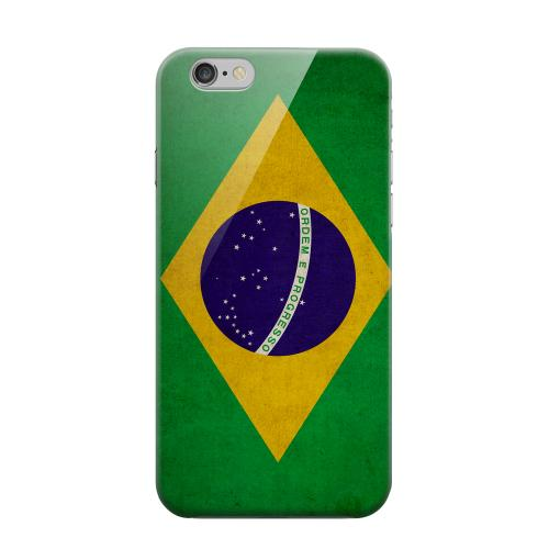 Geeks Designer Line (GDL) Apple iPhone 6 Matte Hard Back Cover - Grunge Brazil