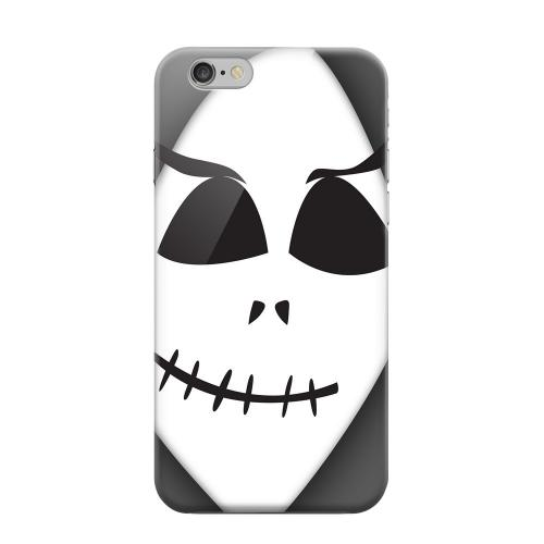 Geeks Designer Line (GDL) Apple iPhone 6 Matte Hard Back Cover - Grinning Grim Reaper
