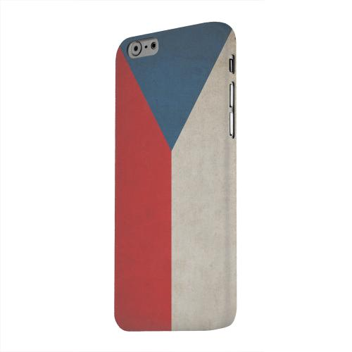 Geeks Designer Line (GDL) Apple iPhone 6 Matte Hard Back Cover - Grunge Czech Republic