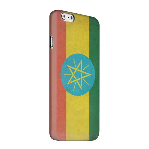Geeks Designer Line (GDL) Apple iPhone 6 Matte Hard Back Cover - Grunge Ethiopia