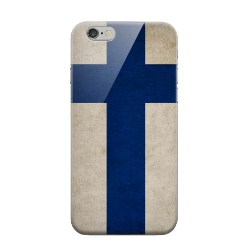 Geeks Designer Line (GDL) Apple iPhone 6 Matte Hard Back Cover - Grunge Finland