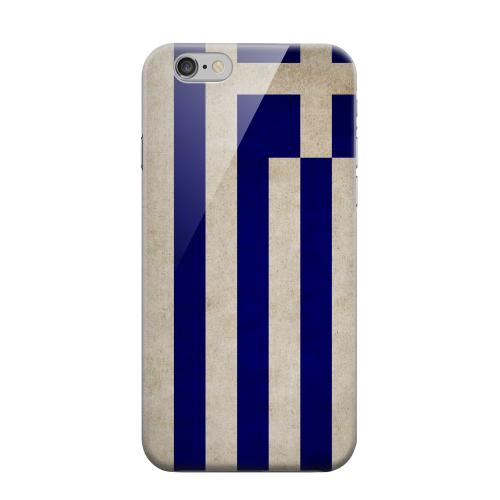 Geeks Designer Line (GDL) Apple iPhone 6 Matte Hard Back Cover - Grunge Greece
