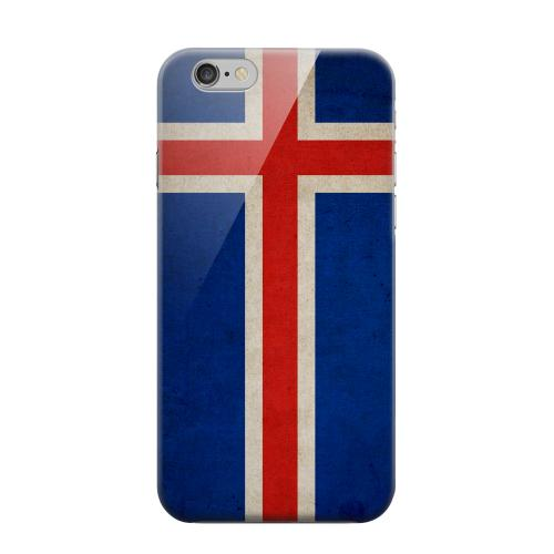 Geeks Designer Line (GDL) Apple iPhone 6 Matte Hard Back Cover - Grunge Iceland