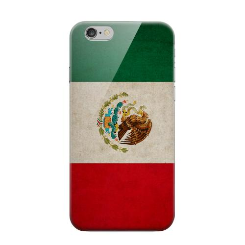 Geeks Designer Line (GDL) Apple iPhone 6 Matte Hard Back Cover - Grunge Mexico
