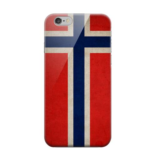 Geeks Designer Line (GDL) Apple iPhone 6 Matte Hard Back Cover - Grunge Norway