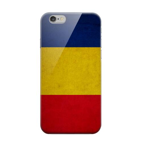 Geeks Designer Line (GDL) Apple iPhone 6 Matte Hard Back Cover - Grunge Romania