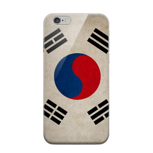 Geeks Designer Line (GDL) Apple iPhone 6 Matte Hard Back Cover - Grunge South Korea