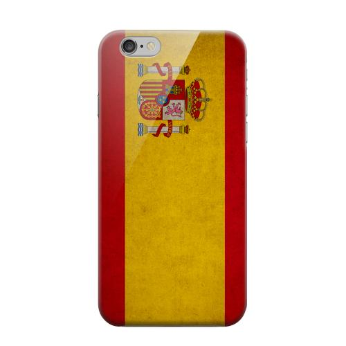 Geeks Designer Line (GDL) Apple iPhone 6 Matte Hard Back Cover - Grunge Spain
