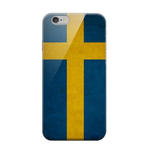 Geeks Designer Line (GDL) Apple iPhone 6 Matte Hard Back Cover - Grunge Sweden