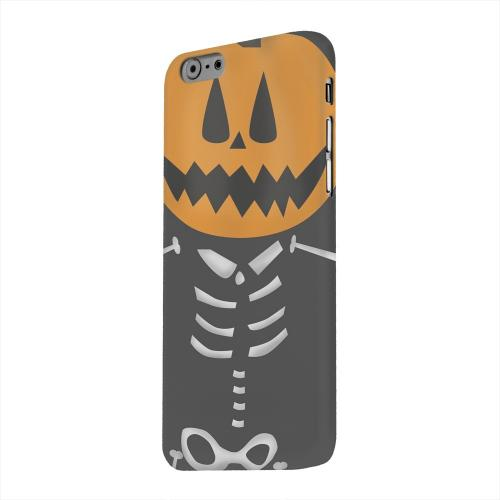 Geeks Designer Line (GDL) Apple iPhone 6 Matte Hard Back Cover - Skelton w/Jack O' Lantern Head